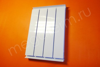 Радиатор Отопления Алюминий 500/52  4 секции Термал - Производство и продажа полипропиленовых труб «МегаТерм»