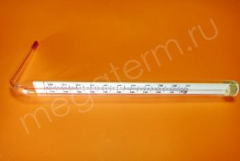 Термометр Керосин от 0*С до +100*С, L=104мм угловой - Производство и продажа полипропиленовых труб «МегаТерм»