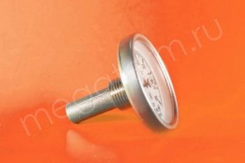 Термометр Биметалл  63мм, 150 *С, L= 50мм Осевой с Гильзой - Производство и продажа полипропиленовых труб «МегаТерм»