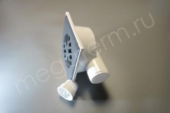 Трап Горизонтал. D 50 Чугунная Решетка 150 х150 Мех.Клапан - Производство и продажа полипропиленовых труб «МегаТерм»
