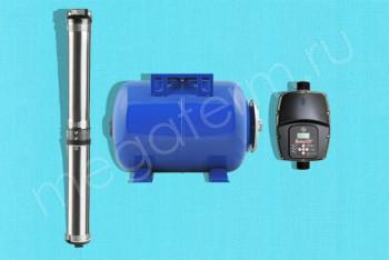 Станция Автомат. Водоснабж. Eco-3 Sirio, г/а 24л (Unipump) - Производство и продажа полипропиленовых труб «МегаТерм»