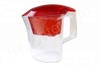 Фильтр Кувшин Аквилон 3,0 л. Красный (Гейзер) 62042 - Производство и продажа полипропиленовых труб «МегаТерм»
