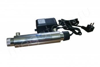 Комплект УФ Лампа Ультрафиолет для Гейзер-3 с Заземлением, 6W (Гейзер) 35511 - Производство и продажа полипропиленовых труб «МегаТерм»