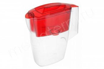 Фильтр Кувшин Мини 2,5 л. Красный (Гейзер) 62046 - Производство и продажа полипропиленовых труб «МегаТерм»