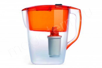 Фильтр Кувшин Орион 4,0 л. Оранжевый (Гейзер) 62045 - Производство и продажа полипропиленовых труб «МегаТерм»