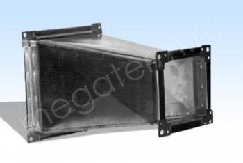 Переход 800х800/ 800х500, 1000 мм - Производство и продажа полипропиленовых труб «МегаТерм»